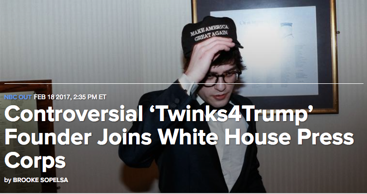 TGP'S White House Correspondent Lucian Wintrich Smashes MSM in NBC interview
