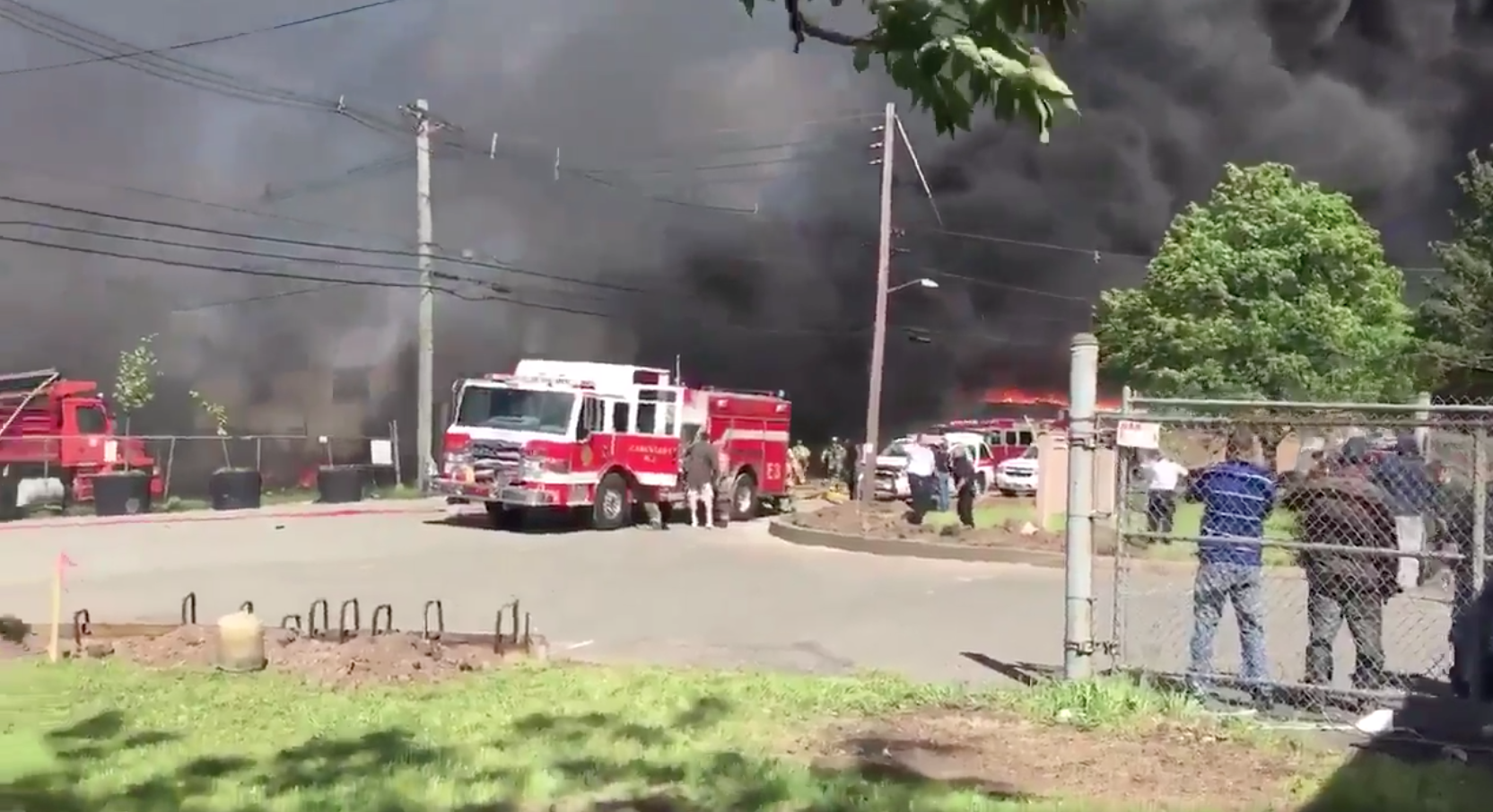BREAKING Private Jet Crashes Near Teterboro Airport VIDEO