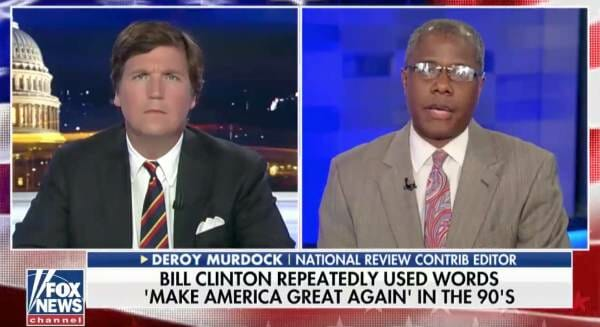 photo image Deroy Murdock to Tucker Carlson: Democrats Are 'Fresh Out of Ideas, They Don't Have An Agenda' (VIDEO)