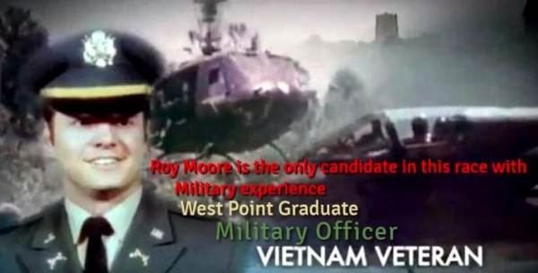 Vietnam Commander Tells Never-Before-Heard Story About 'Honorable, Decent, Respectable, and Patriotic' Roy Moore
