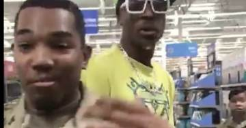 WOW: U.S. Soldiers Keep Their Cool While Being Screamed At While Shopping At Walmart [VIDEO]