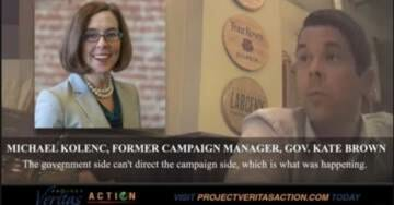 James O'Keefe Strikes Again: Catches Oregon Governor In Web Of Corruption, Possible Election Law Violations