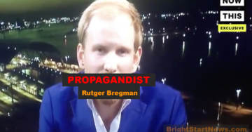 "MUST SEE VIDEO: Tucker Carlson EXPLODES On Leftist Hack Rutger Bregman – ""Go F**K Yourself!"""