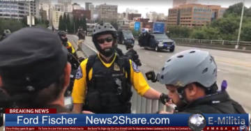 """LIVE: Patriots Gathering At Portland at """"End Domestic Terrorism"""" March and Rally (Photos-Video)"""