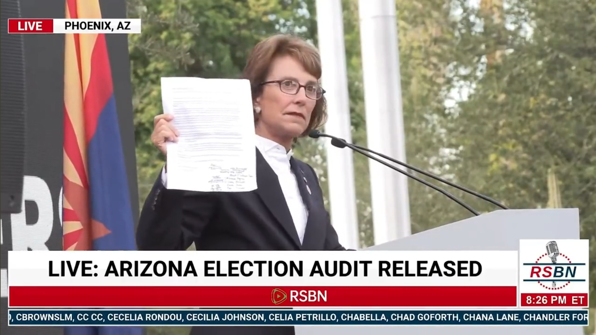 """BREAKING: 138 Legislators From 38 States Sign """"New Declaration Of Independence"""" – AZ State Sen. Wendy Rogers"""