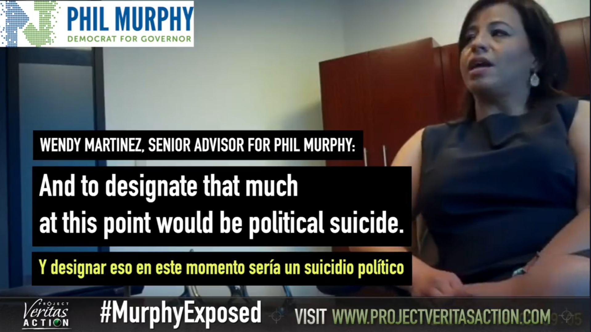 """WATCH: Project Veritas Part II: Sr. Advisor Reveals NJ Governor Murphy Secretly Funneled $40 Million In Taxpayer Funds To Illegals and Plans to Give Millions More – Says Truth Would Be Like """"Political Suicide"""" For His Re-Election"""