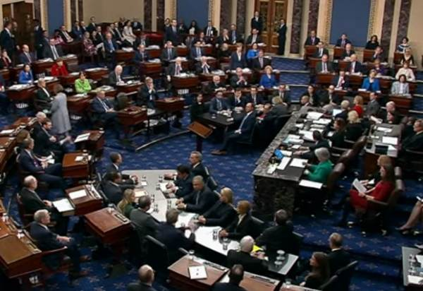This image has an empty alt attribute; its file name is Senate-Floor-600x412.jpg