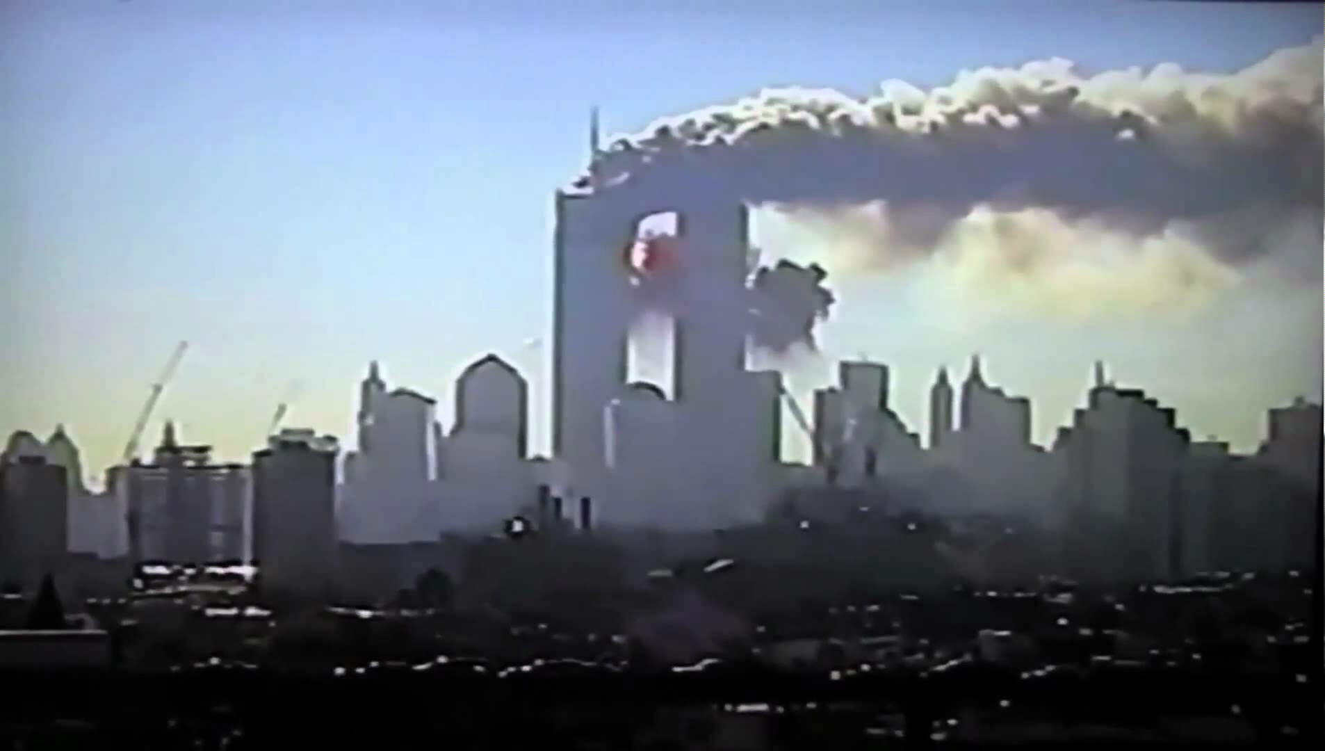 September 11 attack view Jersey City You Tube
