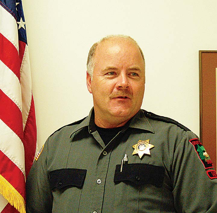 Sheriff Glenn Palmer is taking a stand for sheriffs and local rights.