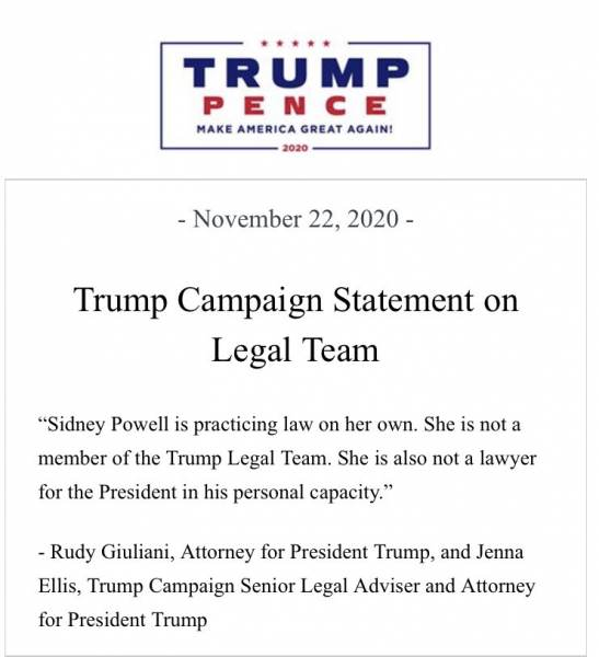 """""""Sidney Is Staying the Course to Prove the Massive Deliberate Election Fraud"""" – Attorney Sidney Powell Suspended by Twitter — Releases Statement and Signs Off #KrakenOnSteroids 3"""