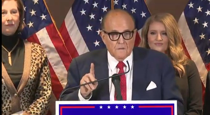 Breaking: Trump Gettysburg Trip Canceled After Giuliani Second Close Contact With COVID Announced