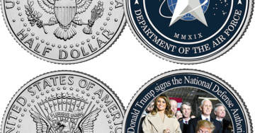 Support Gateway Pundit With A Limited Edition U.S. Space Force Coin Set (Free Shipping)