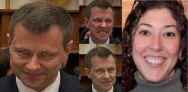 GET YOUR POPCORN READY – Four Different Reports Released Last Night Indicate the Days Ahead Will be Devastating for the DEEP STATE! Strzok-and-Page-600x295