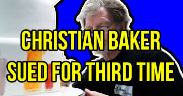Here We Go Again: Christian Colorado Baker Sued By Radical Christian-Hating Leftists For THIRD Time (VIDEO)