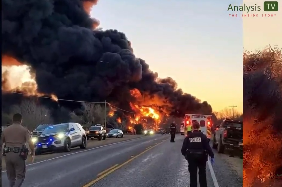 Trains, Planes and Tankers On Fire and Exploding