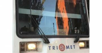 TRIGGERED! Portland Transit Investigating MAGA Sign On Train