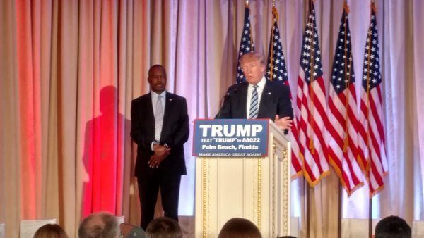 Trump Ben Carson Endorsement