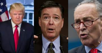As Comey Book Mania Begins, Never Forget Schumer Warned Trump That Intel Community 'Have Six Ways From Sunday' To Seek Revenge (VIDEO)