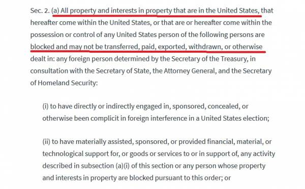 President Trump's Executive Order from 2018 Covering Interference in US Elections By Foreign Entities Looks Relevant Today 2