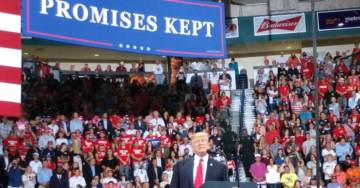 TGP On Scene Report From Raucous President Trump Rally in Fort Myers, Florida (Photos)