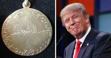 President Trump Awarded Medal of Bravery by Afghan Elders for Standing Up to Pakistan