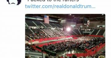 WaPo Reporter Dave Weigel Deleted Bogus Trump Rally Photo After White House Called Him Out Saturday Morning