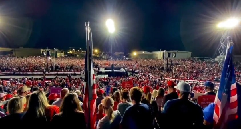 BREAKING: President Trump Announces Rally in Georgia on Saturday Night - December 5th