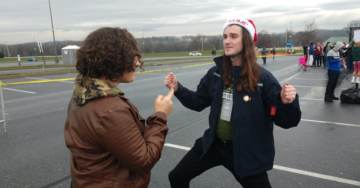 Photos: Scott Presler Fires Up the Crowd Outside Trump Hershey PA Rally (TGP On Scene Report)