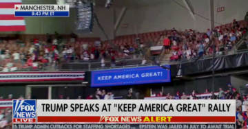 WTH? Thousands of Supporters Locked Out of Trump Rally as Hundreds of Empty Seats in New Hampshire Arena Went Unfilled