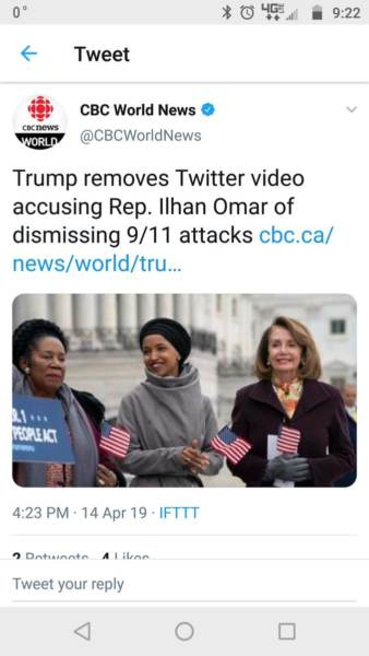 fake news  ap falsely reported trump took down ilhan omar
