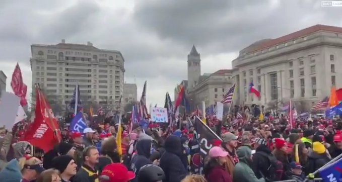 'Thousands Pouring Into DC Won't Stand for Stolen Election'