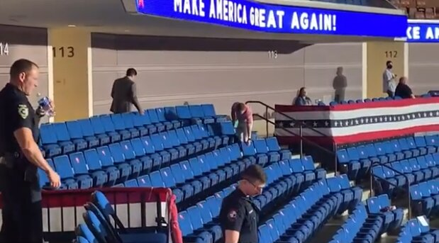 MUST READ... Report: Tulsa Arena Management Sabotaged Trump Rally Attendance