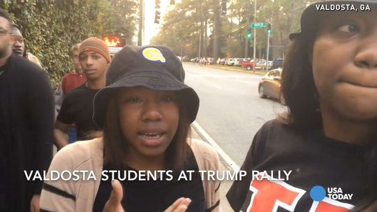 MEDIA LIES: Falsely Claims Trump Ordered Black Students Kicked Out of Valdosta, Georgia Rally