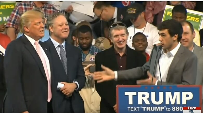 AWESOME! NASCAR Chairman and Drivers Endorse Donald Trump in Georgia (VIDEO)