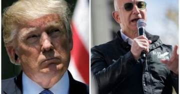 Report – Vanity Fair Says President Trump at War with Jeff Bezos