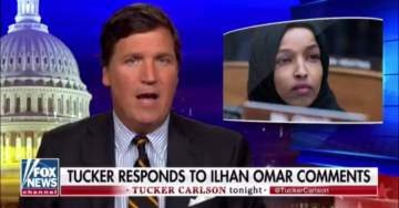 What First Amendment? Rep. Ilhan Omar Calls for Advertiser Boycott of Fox News Host Tucker Carlson for Criticizing Her