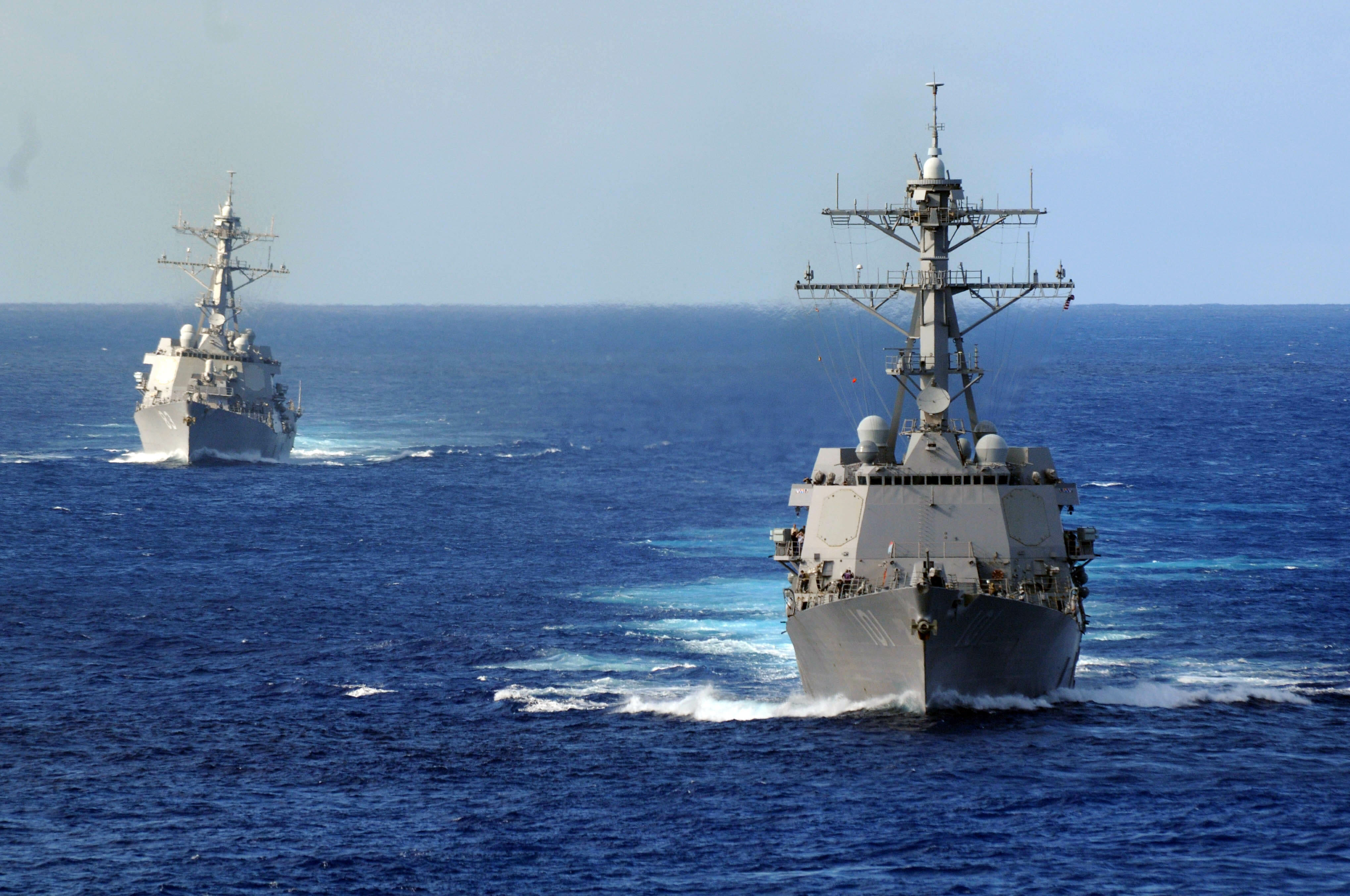 U.S. Ready to Retaliate if North Korea Tests Device – 2 Navy Destroyers Capable of Shooting Tomahawk Missiles in Position