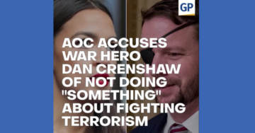AOC Accuses War Hero Dan Crenshaw of Not Doing 'Something' About Fighting Terrorism…('The Scoop' VIDEO)