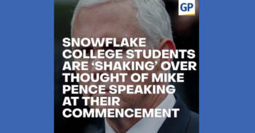 Snowflake College Students Are 'Shaking' Over Thought Of Mike Pence Speaking At Their Commencement (VIDEO)
