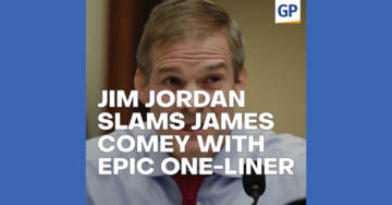 EPIC: Jim Jordan DESTROYS James Comey With Savage One-Liner (VIDEO)