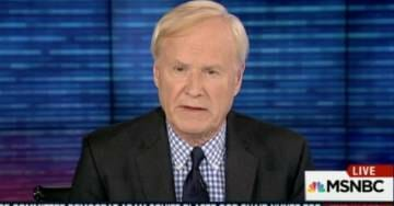 MSNBC's Chris Matthews Compares Ivanka and Her Husband to Saddam Hussein's Sons (VIDEO)