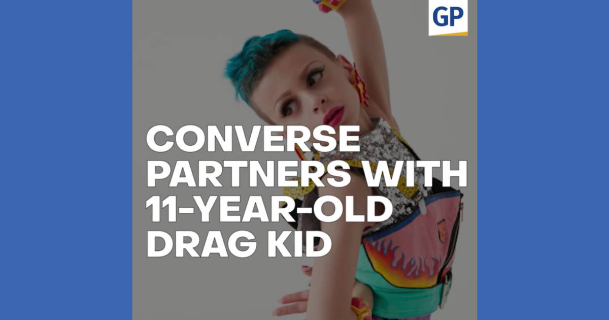 photo image Converse Faces Huge Backlash After Partnering With An 11-Year-Old Drag Queen (VIDEO)