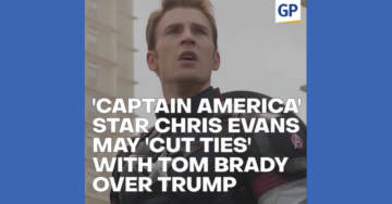 "Chris Evans May 'Cut Ties' with Tom Brady Over Trump…""The Scoop"" video"