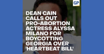 "Epic! Dean Cain Calls Out Pro-Abortion Actress Alyssa Milano For Boycotting Georgia 'Heartbeat Bill'…(""The Scoop"" Video)"