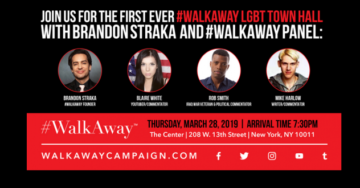 AWFUL! New York LGBT Center Cancels Scheduled #WalkAway Event — Founder Brandon Straka Finds Out via Twitter