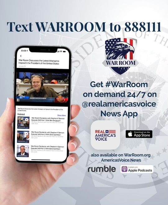 "Steve Bannon's War Room: Rabbi Aryeh Spero – ""We Can't Give Up – We Still Believe in the American Way – Don't Forget Our Truth!"""