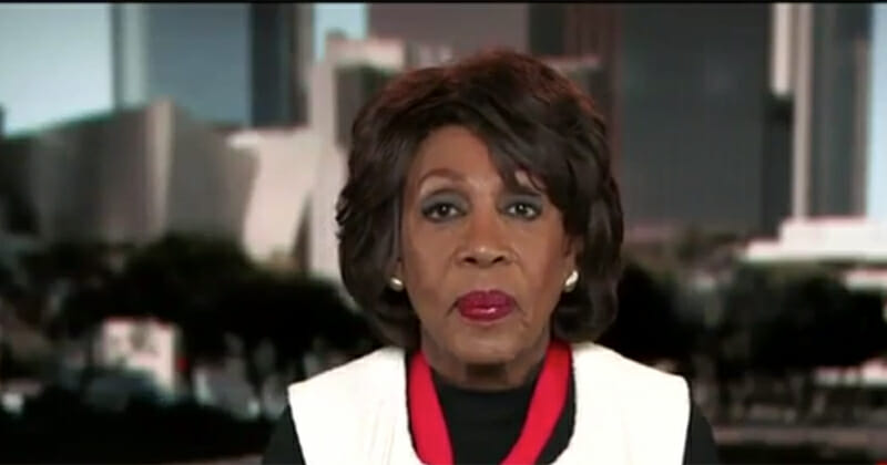 Maxine Waters Says Trump Supporters Aren't Patriotic (VIDEO)