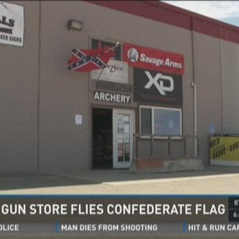 Wild Bills Confederate Flag storefront