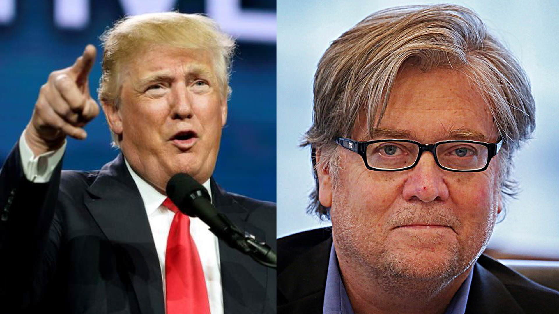 POTUS Trump Breaks Silence on Steve Bannon Amid Calls For Him to Be Fired