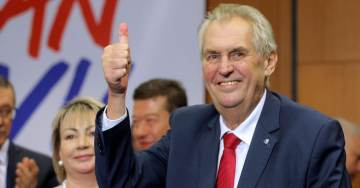 Populist Wave Continues! Anti-Globalist Zeman Beats Liberal Challenger To Retain Czech Presidency